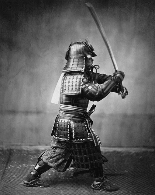 dieta samuraja - wojownik